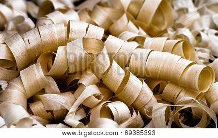 Fresh Wood Shavings