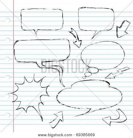 Balloon Dialogue Doodle
