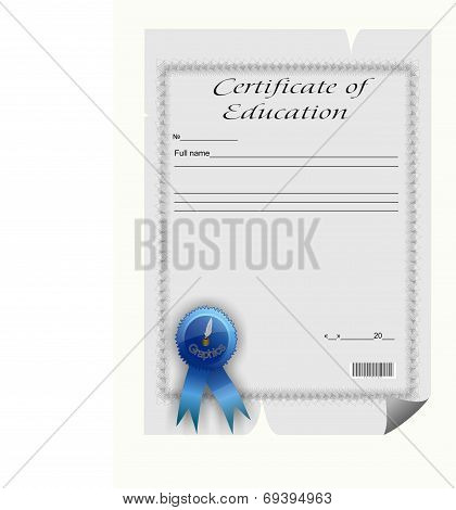 Certificate Of Education