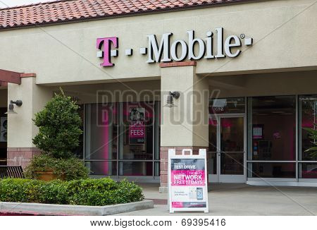 T-mobile Store Exterior