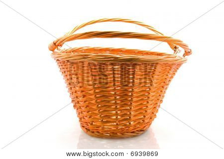 Empty Cane Basket