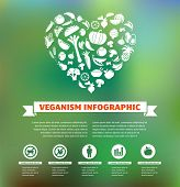 stock photo of meat icon  - vegetarian and vegan - JPG