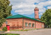 foto of firehouse  - Firehouse with a watch - JPG