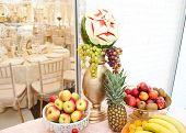 image of fruits  - Fruits arrangement - JPG