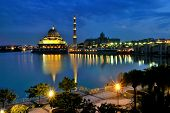 picture of prime-minister  - The Putra Mosque - JPG
