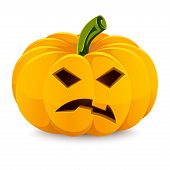 picture of jack o lanterns  - Halloween pumpkin - JPG
