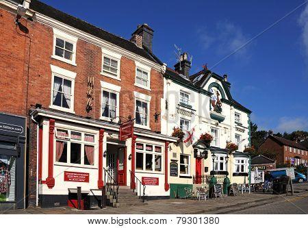 Pub and restaurant, Ashbourne.