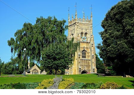 Evesham Abbey Tower.