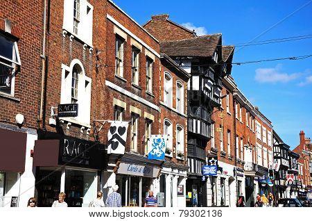 Tewkesbury High Street.