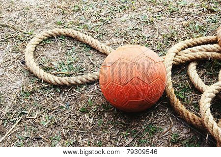 Handball And Rope