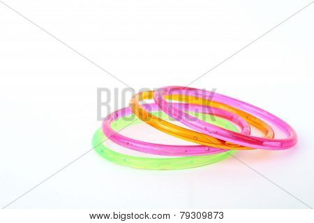 Plastic Toy Bangle