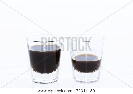 Espresso Shots In Two Levels