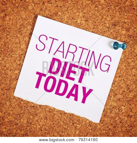 Starting Diet Today