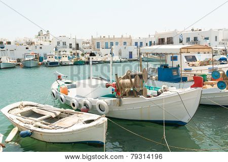 Naoussa harbor