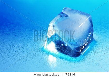 Lone Perfect Ice Cube
