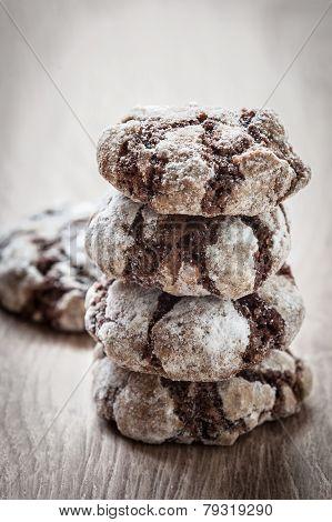 Chocolate Break Cookies