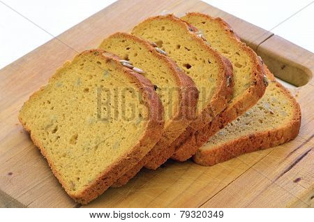 Gluten Free Sunflower Seed Bread