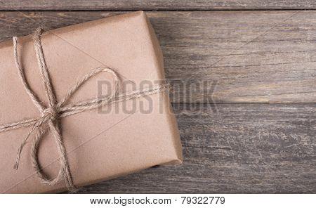 Brown Package Closeup