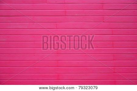 Pink Wood Wall Horizontal Texture
