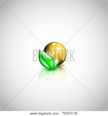 Oil droplet icon