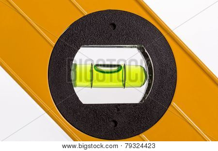 Green bubble level