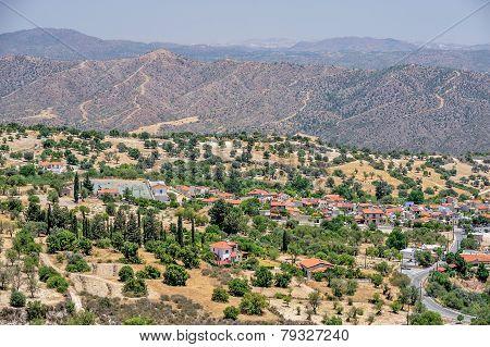 Cyprus Rural Landscape