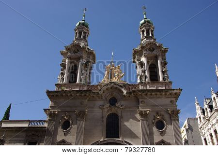 Church in Buenos Aires, Argentina