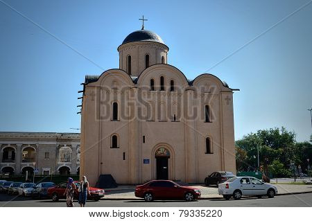 Church Of The Assumption Pirogoscha, Kiev