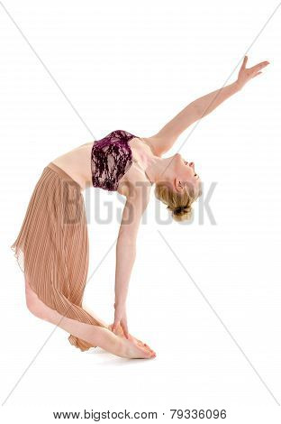 Passionate Teen Contemporary Dancer