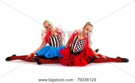 Circus Acrobat Children