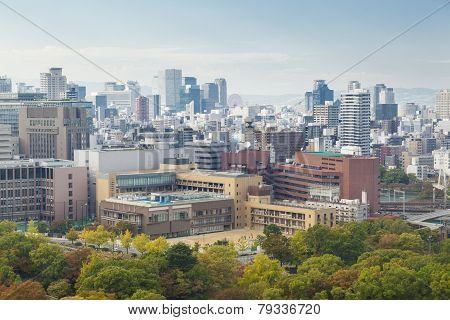 View Of Osaka City In Daytime