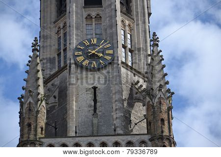 The Belfry Of Bruges, Belgium
