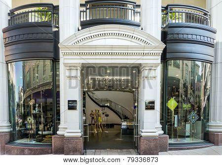 Versace Retail Store Exterior