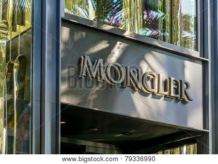 Moncler Retail Store Exterior