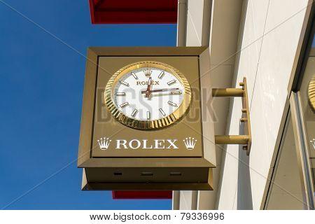 Rolex Store Exterior