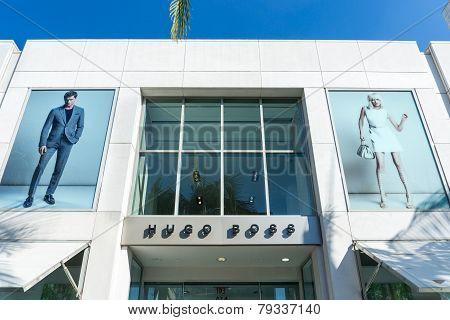 Hugo Boss Retail Store Exterior