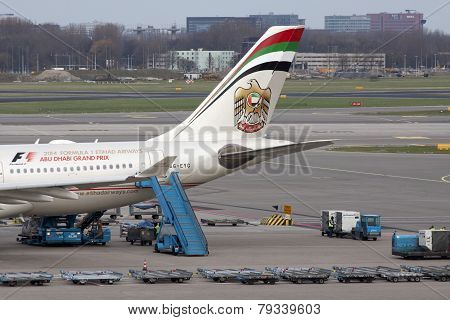 Boeing from etihad airways