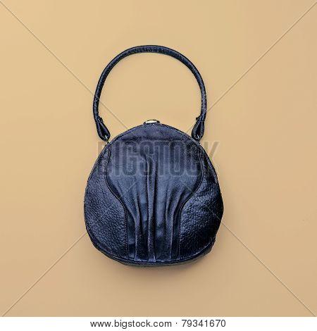 Vintage Bag On A Light Background