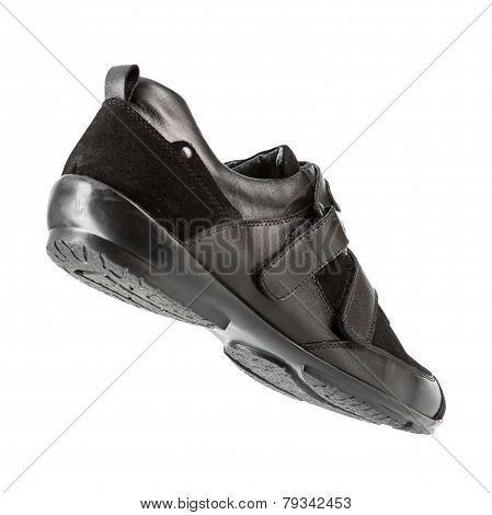 Men Sport Shoes On A White Background