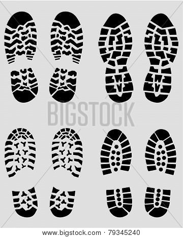 prints of shoes