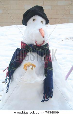 Kangaroo Snowman