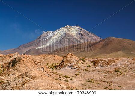 Volcano In South America