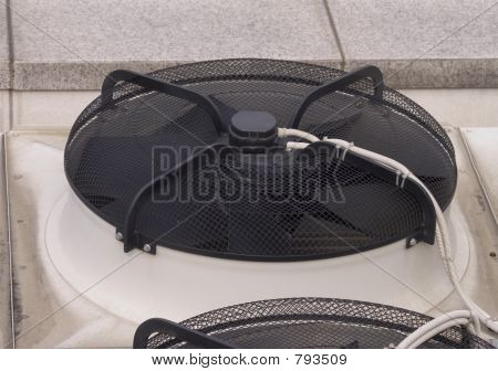 Air conditioner closeup