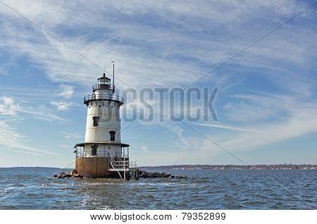 Conimicut Lighthouse In Warwick Ri