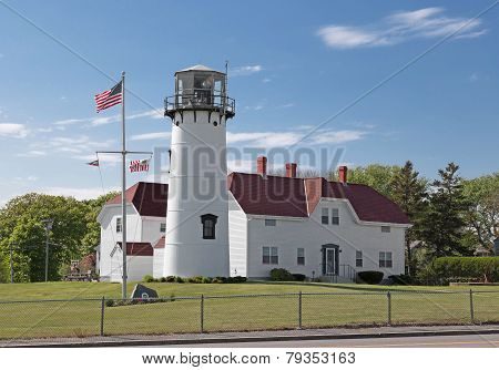 Chatham Lighthouse In Cape Cod