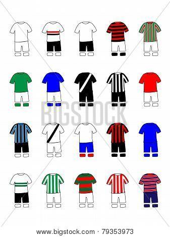 Brazilian League Clubs Jerseys