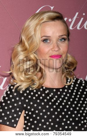 LOS ANGELES - JAN 3:  Reese Witherspoon at the Palm Springs Film Festival Gala at a Convention Center on January 3, 2014 in Palm Springs, CA
