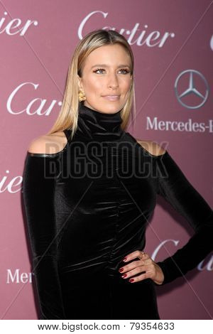 LOS ANGELES - JAN 3:  Renee Bargh at the Palm Springs Film Festival Gala at a Convention Center on January 3, 2014 in Palm Springs, CA
