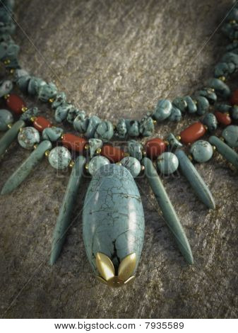 blue traditional charm
