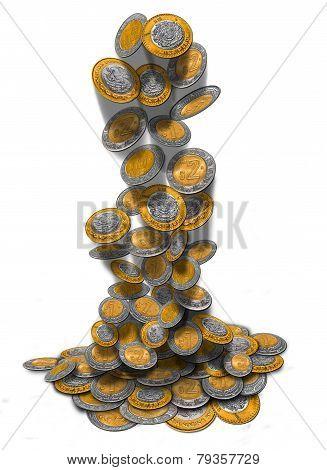 Mexican Peso Rain